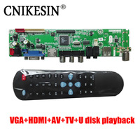 CNKESIN Support 10 65 Inch Screen Write Free Program LCD TV V59 Drive Panel 60HZ Support