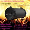 2016 Hottest Outdoor Sports Subwoofer 2000mAh 10W HiFi Bass Loud Sound Portable Wireless Bluetooth Speaker Audio Player FM Radio