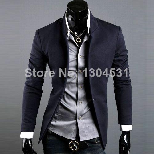 super especiales rico y magnífico en venta Korean Fashion Mens Casual Slim Fit Suit Sport Coat Business ...