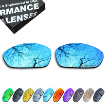 ToughAsNails Resist Seawater Corrosion Polarized Replacement Lens for Oakley Straight Jacket 2007 Sunglasses - Multiple Options
