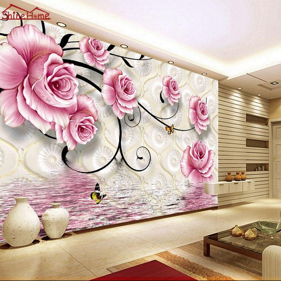 Online Kaufen Großhandel tapete rosa aus China tapete rosa ...