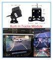 Auto 6 Lente De Vidro 170 Graus HD CCD Invertendo Trajetória Inteligente Pista Câmera de Visão Traseira Reversa Backup Estacionamento Câmera Do Carro