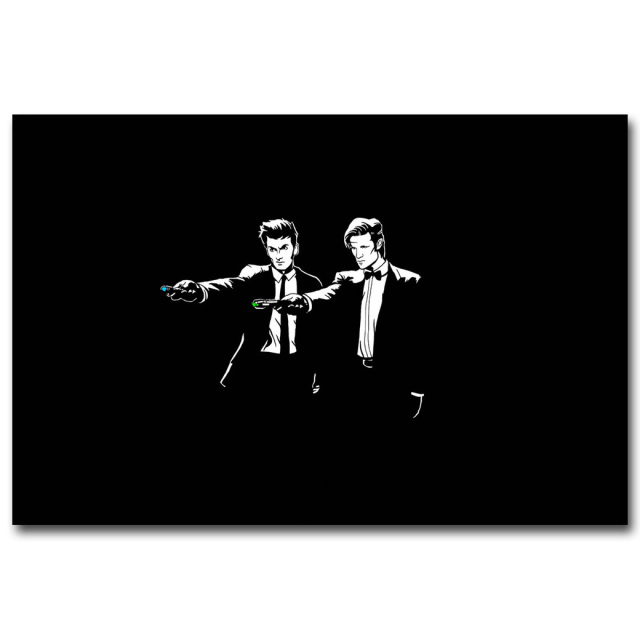 Doctor Who TV Series Art Silk Poster Print 12×18 20×30 24×36 inches Funny Wall Pictures For Living Room Decor