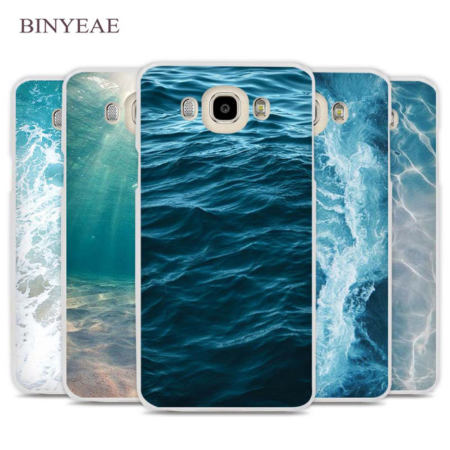 more photos b1299 659d7 US $2.89 |BINYEAE Ocean Water Cell Phone Case Cover for Samsung Galaxy J1  J2 J3 J5 J7 C5 C7 C9 E5 E7 2016 2017 Prime-in Half-wrapped Case from ...