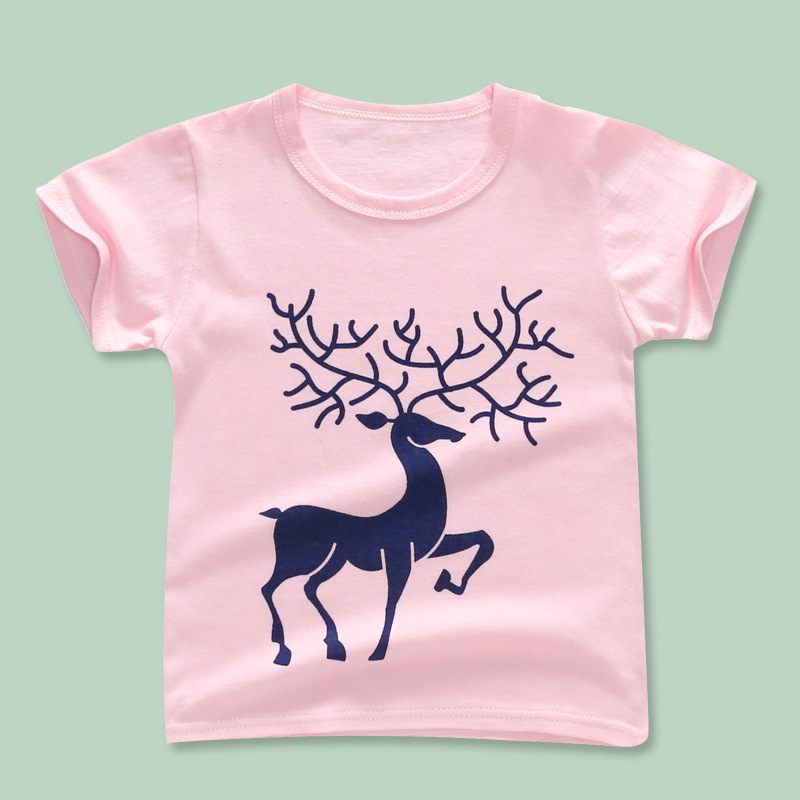 Retail Boys T Shirts Summer Kids Fashion Animal Print T-shirts Baby Boys Short Sleeve t Shirt Tops Tee Children Cotton Clothing fashion long sleeve o neck t shirt 2017 new arrival men t shirts tops tees men s cotton t shirts 3colors men t shirts m xxl