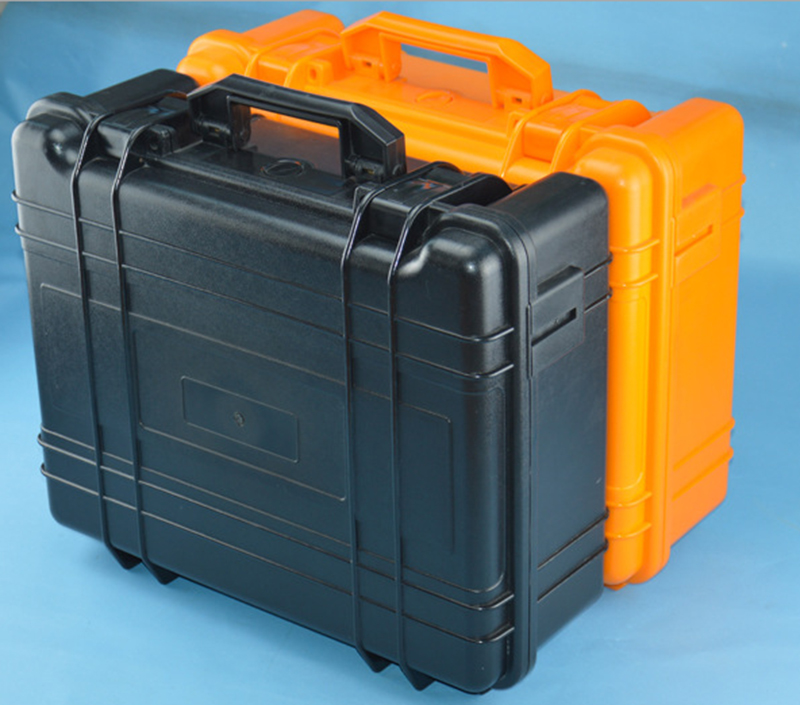 Tool case toolbox suitcase Impact resistant sealed waterproof plastic case equipment box camera case with straps and foam lining tool case gun suitcase box long toolkit equipment box shockproof equipment protection carrying case waterproof with pre cut foam