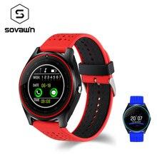 V9 Smart Watch Waterproof Bluetooth Men Women Health Sport Smartwatch Heart Rate Tracker Wearable Wrist Devices