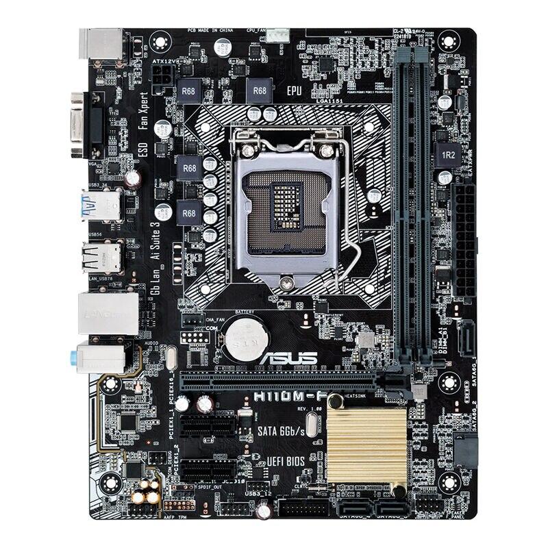 H110M-F LGA1151 pin desktop computer motherboard M-ATX small board support DDR4H110M-F LGA1151 pin desktop computer motherboard M-ATX small board support DDR4