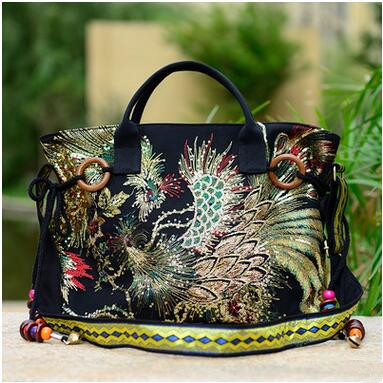 New Coming National Women's embroidery Nulti-use bags!Hot Tassles Shoulder&Handbags Fashion Shopping Causal Tote shoulder bag new national embroidery bags high quality women fashion shoulder
