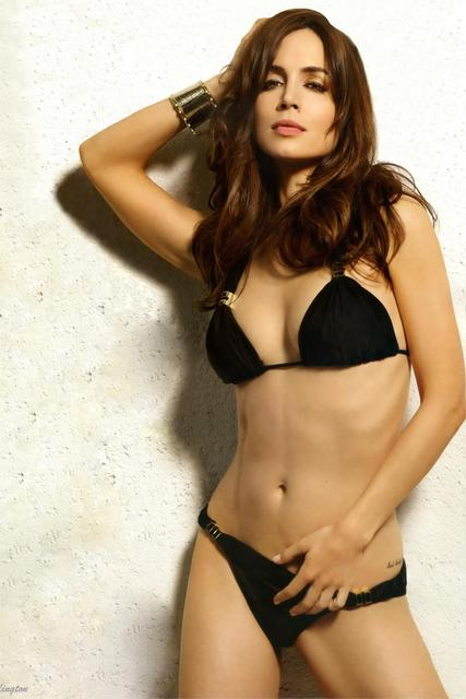 Hot Sexy Belle Eliza Dushku Black Bikini Photo Home Decoration Art Silk Fabric Cloth Canvas Poster