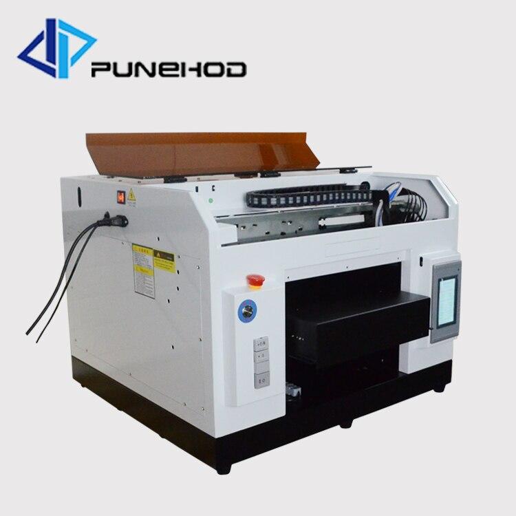 Imprimante à jet d'encre à plat uv à plat du lit plat a3 rorary led à grande vitesse de paillasse à vendre