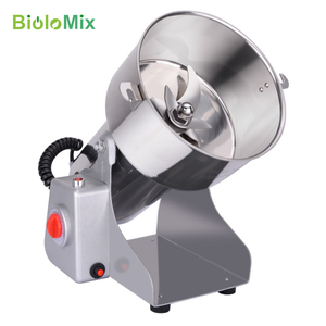 Image 4 - 700g Swing Type Electric Grains Herbal Powder Miller Dry Food Grinder Machine high speed Intelligent Spices Cereals Crusher