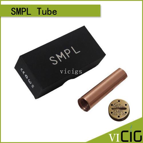 El nuevo arriver SMPL mod 18650 mech Mod Mecánica Mod SMPL tubos con 510 hilo
