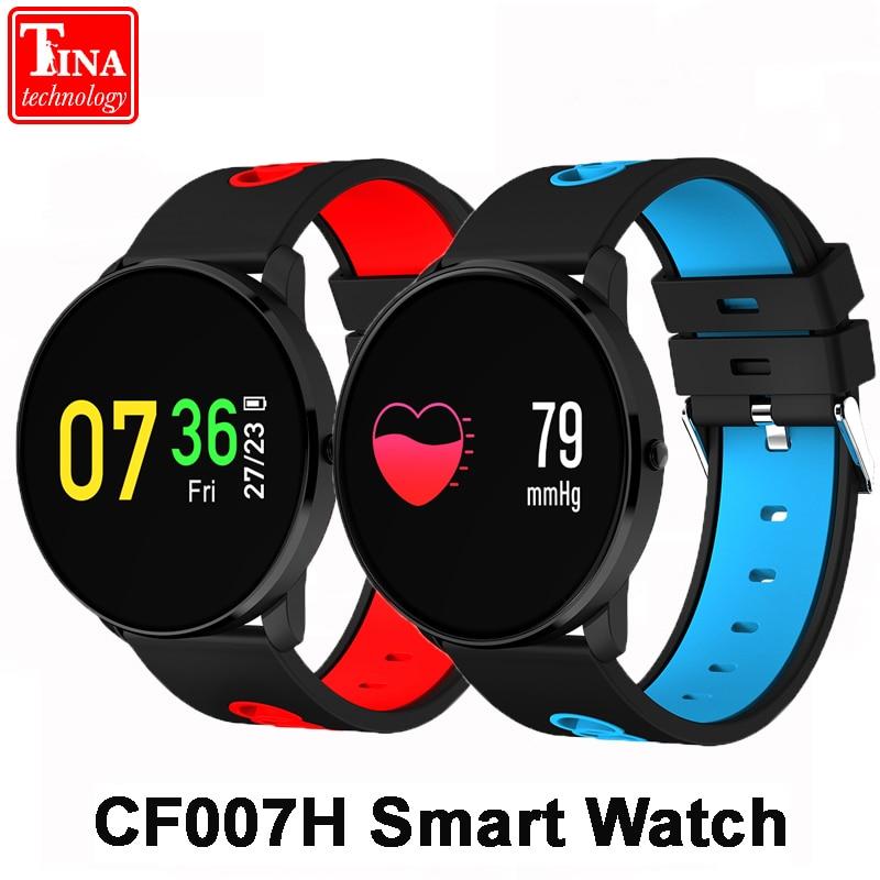 Original CF007H Color Screen Smart Watch Heart Rate Monitor Blood Pressure Monitor Smart Band Sport Tracker sport Bracelet
