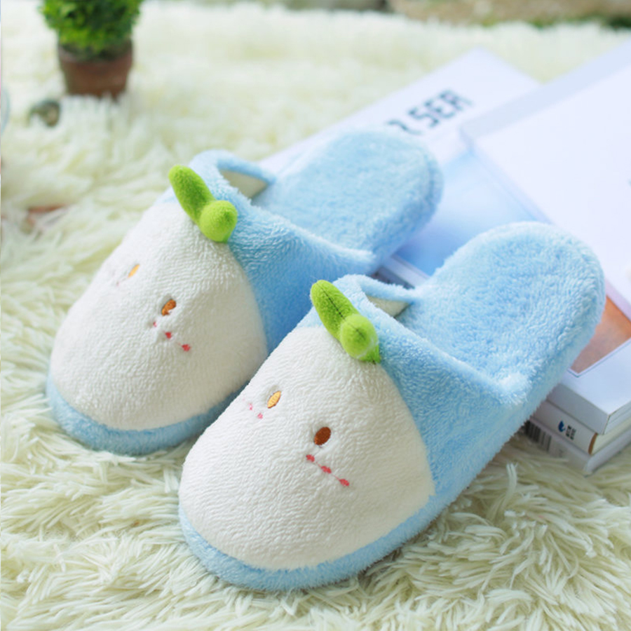 Cute Animal Cartoon Women Winter Home Slippers For Indoor Shoes Bedroom Warm House Slippers
