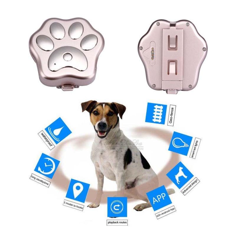V30 Intelligent Mini Waterproof GPS Tracker Car Dog Pet GPRS GSM WIFI GPS Anti-throw Positioner Through Website / APP / Wechat