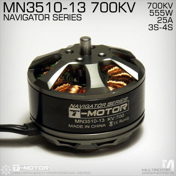 RC Model część T MOTOR MN3510 KV700 Outrunner silnik bezszczotkowy do multirotor copter w Części i akcesoria od Zabawki i hobby na  Grupa 3