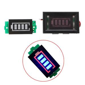 Capacity Blue Display Indicator Module 6 S 6 Series 25.2 V Power Level Lithium Battery