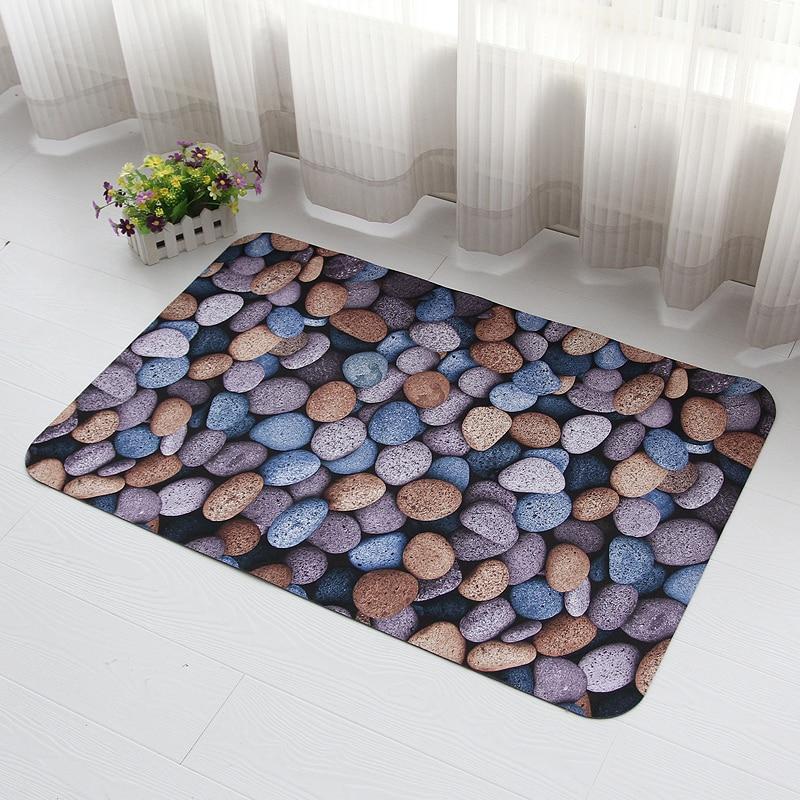 3D Three Dimensional Stone Kitchen Floor Mats Waterproof Non Slip Mats  Bathroom Doormat In Mat From Home U0026 Garden On Aliexpress.com | Alibaba Group