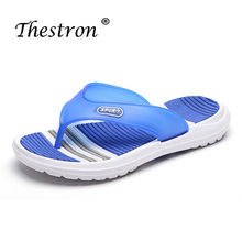 Soft Slippers Man Comfortable Beach Men Casual Shoes Flip Flops Platform Weight Light Flat Young Boy