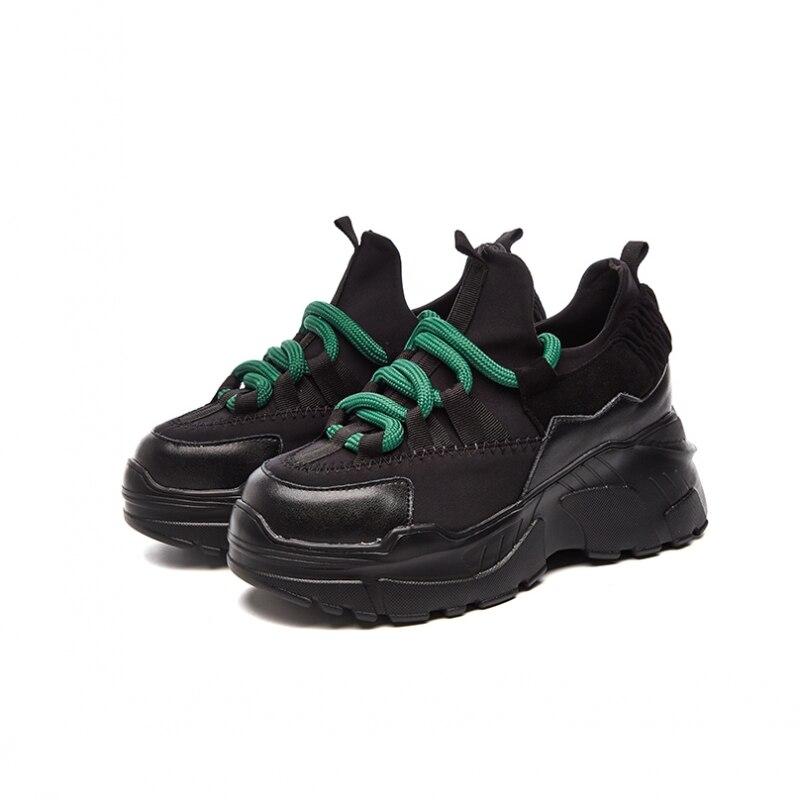 Sneakers Femmes Marche Respirant 2 De Automne Mode Décontracté 2019 Bout Vulcanisées Toile À Lacets Chaussures Rond 1 Appartements kiOPXuZ