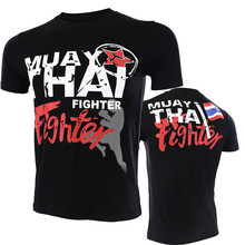 VSZAP Muay Thai Fighter MMA Sanda Fitness Men T-Shirt Sporting Tee Shirt Homme UFC Fighting Brand Clothing