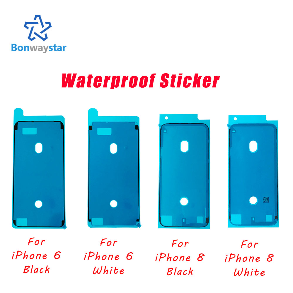 1pcs High Quality Waterproof Sticker For IPhone X XS MAX XR 6 6s 7 8 Plus LCD Screen Tape 3M Adhesive Glue Repair Parts