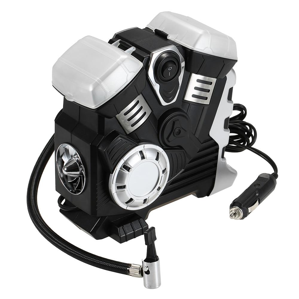 Автомобильный воздушный компрессор постоянного тока 12 В, портативный насос, насос для шин, светодиодный, цифровой дисплей, до 150 фунтов/кв. дюйм, для автомобиля, велосипеда, внедорожника, лодки-in Воздушный насос from Автомобили и мотоциклы on AliExpress - 11.11_Double 11_Singles' Day