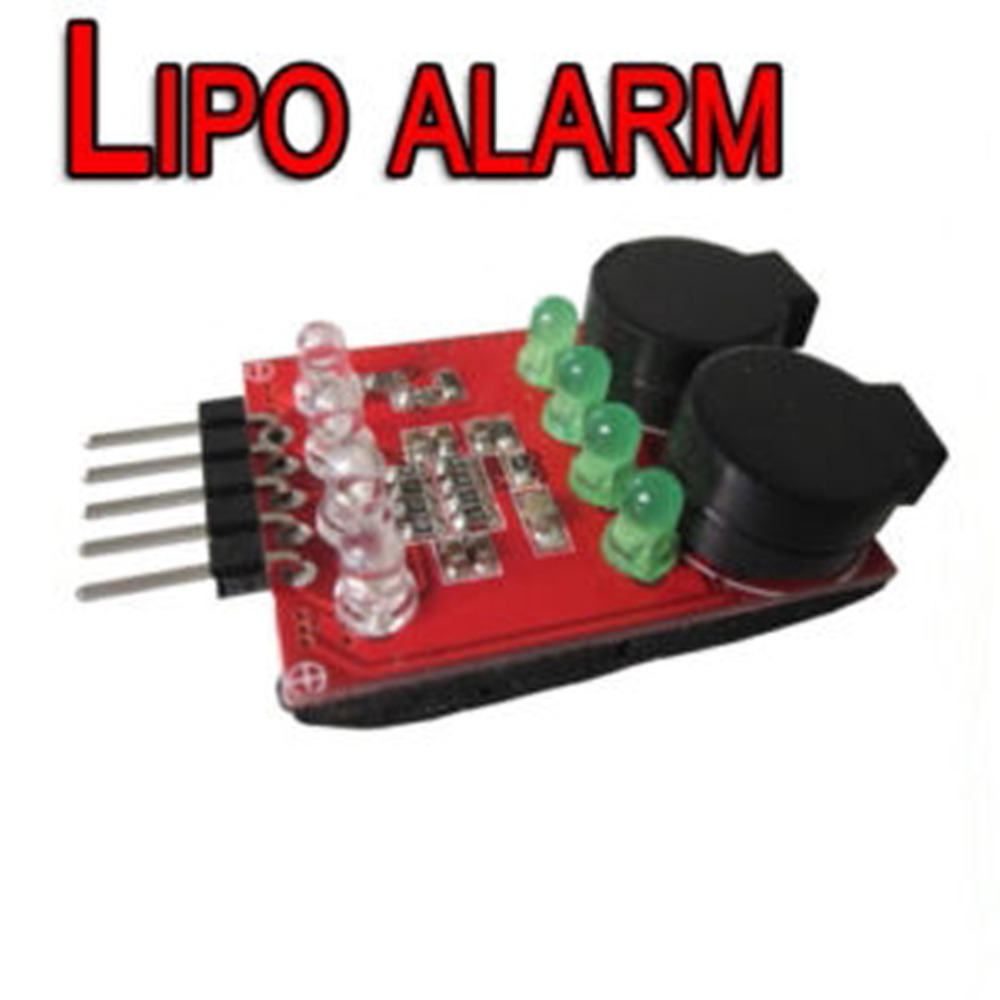 OCDAY Sell1 4S LED Low Voltage Buzzer Alarm Lipo Voltage Indicator Checker Tester New Sale-in Parts & Accessories from Toys & Hobbies