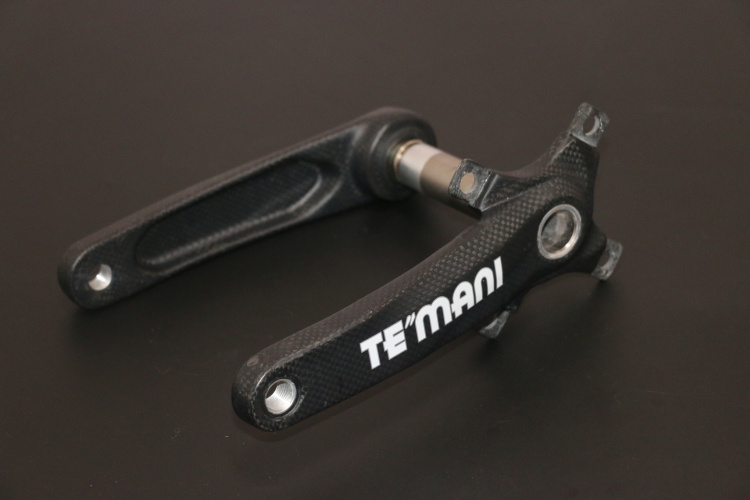 Temani 2016 new Carbon fiber Crank Road Bike Crank moutain bicycle cranks 170mm купить