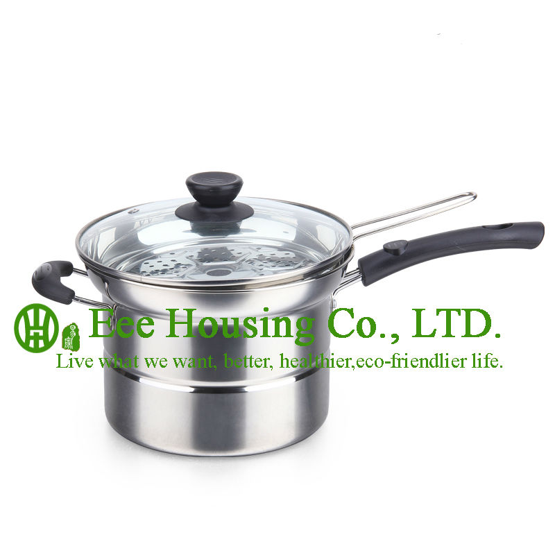 Stainless Steel Kitchenware Cookware ,manufactuer In China, Free Shipping Almighty Pot,cooking Pot,steamer,soup,milk Pot Kitchen