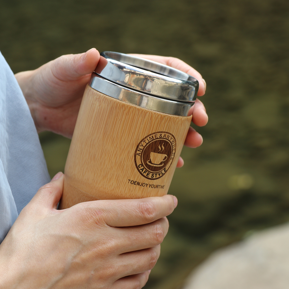500ml Bamboo Travel Mug 1