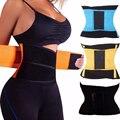 Trainer cintura Respirável Cinto Suor Instantaneamente ajustável Cintura Cincher Controle Tummy Cintas Shaper Do Corpo para As Mulheres do Espartilho