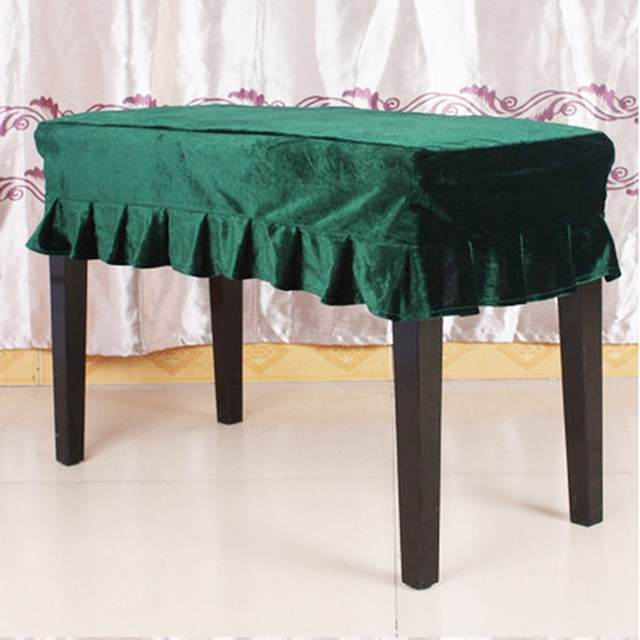 Enjoyable Us 8 46 30 Off Piano Stool Cover Piano Chair Stool Cover Stool Seat Covers Piano Bench Cover Pleated Slipcover Chair Protector In Chair Cover From Uwap Interior Chair Design Uwaporg
