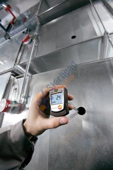 Testo 405-V1 термальный анемометр с держателем воздуховода воздуха/ветровой поток измеритель скорости температуры тестер, 0560 4053, дешевая
