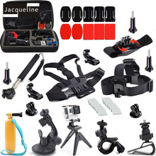 JACQUELINE for Accessories Outdoor Sports Kit Travel Bag Monopod for Go Pro Hero 5 4 go pro hero 3+ 3 2/SJCAM SJ4000/EKEN H9