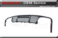 Car Styling Carbon Fiber Rear Bumper Diffuser Fit For 2011 2013 Benz W218 C218 CLS63 AMG OEM Style Rear Diffuser