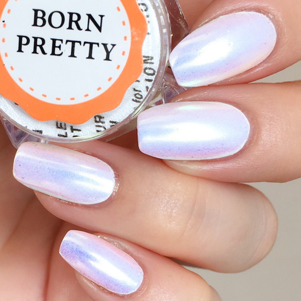 1 Box 0 2g Neon Powder Chameleon Mermaid Mirror Effect Nail Art Dust Chrome Pigment Manicure Decorations In Glitter From Beauty Health On