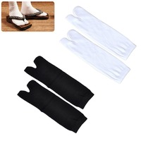 5 Pairs New Unisex Cotton Ninja Socks Japanese Style Kimono Flip Flop Slipper Sandal Split 2