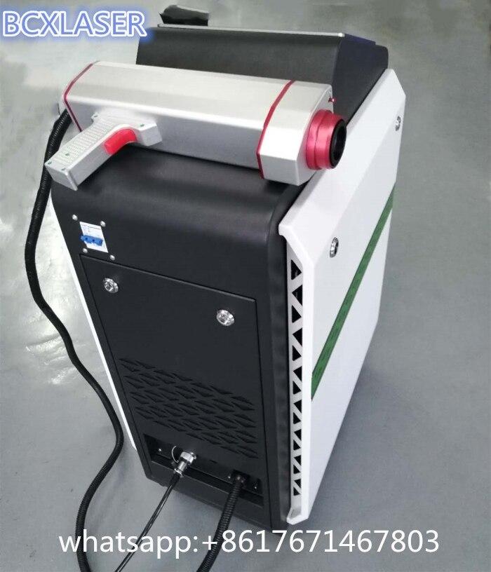 Самая низкая цена 30 Вт волокно лазерная машина для чистки для краски/масло/удаления ржавчины с высоким качеством