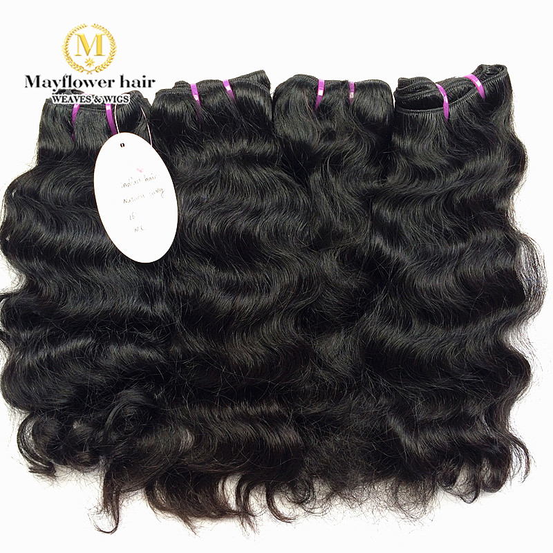 4bundles Virgin Indian Curly hair weaves; 100% True Indian temple hair unproceesed sew in weft.100-110g/pcs 12-22″ available