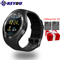 Keyou Y1 Smart Watches Phone Smartwatch Android IOS Type On Wrist Bluetooth sim card smartphone network mode 2g gear Smart Wacht