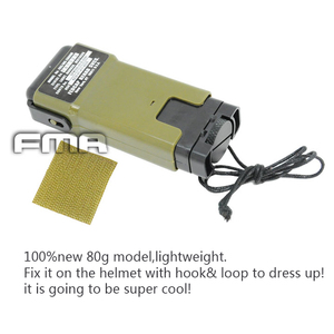 Image 2 - (Dummy) FMA MS2000 Helmet Life saving Strobe Light Model Plastic&Metal For Hunting Tactical Airsoft Paintball Helmet Accessories