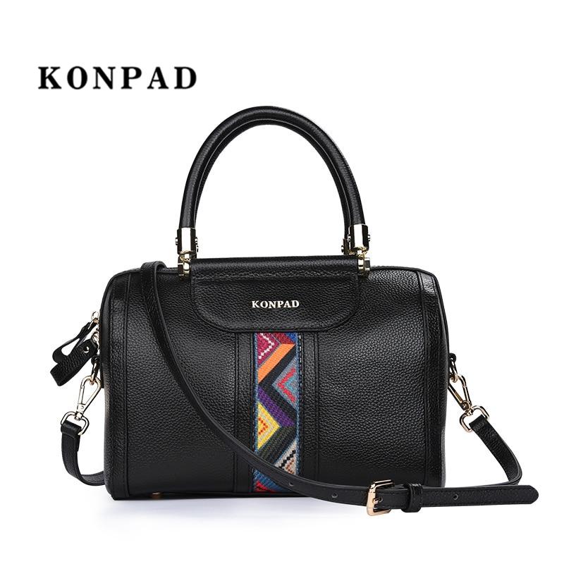 купить Women handbag Leather pillow pack Messenger Bags Shoulder Bags Crossbody Bag Ladies High Quality Handbags Tote SAC free shipping по цене 3994.17 рублей