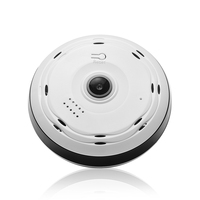 BESDER 360 Degree Panoramic Camera HD 960P IP Camera Wi-fi Two Way Audio With SD Card Slot Indoor VR Security Wireless IP Camera Surveillance Cameras