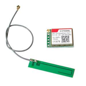 Image 2 - 10 개/몫 SIM800L 무선 GSM GPRS 모듈 쿼드 밴드 W/안테나 케이블 캡