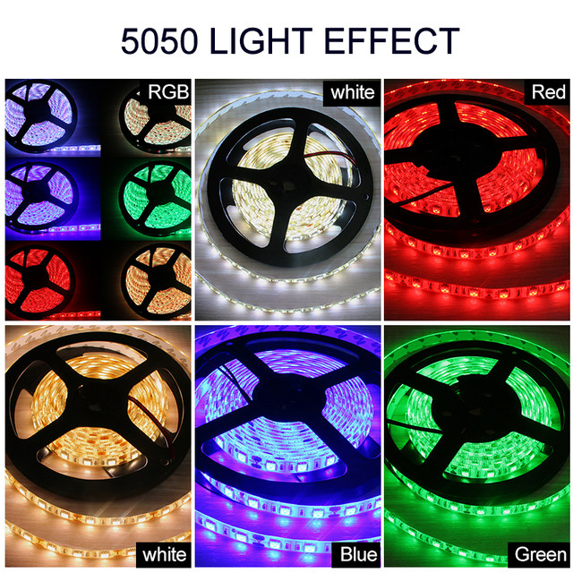 Online shop led strip dc 12v 5m smd 5050 2835 led rgb strip light led strip dc 12v 5m smd 5050 2835 led rgb strip light led waterproof ip44 ip65 flexible led light tape lamp with eu adapter plug mozeypictures Choice Image