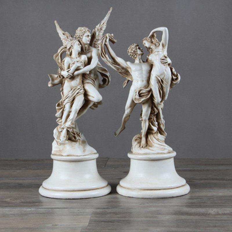 Retro Genesis God of Love Angel Household Decoration Resin Imitation Of Gypsum Action Figure Collection Toy G712 цена