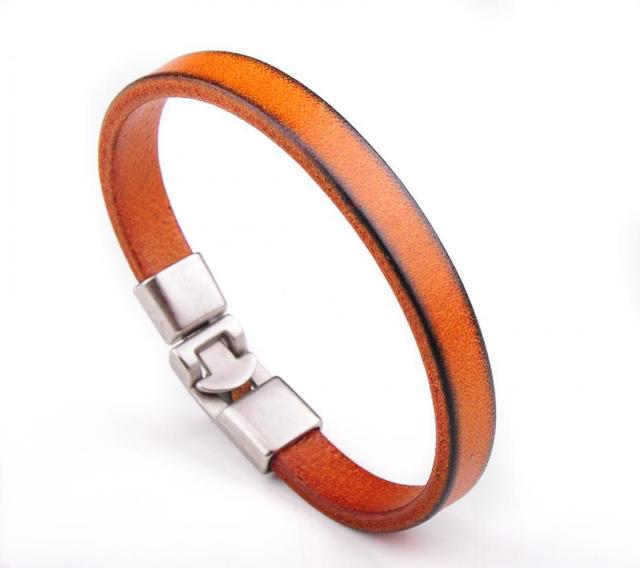 BL12 Brown Mens Single Wrap...