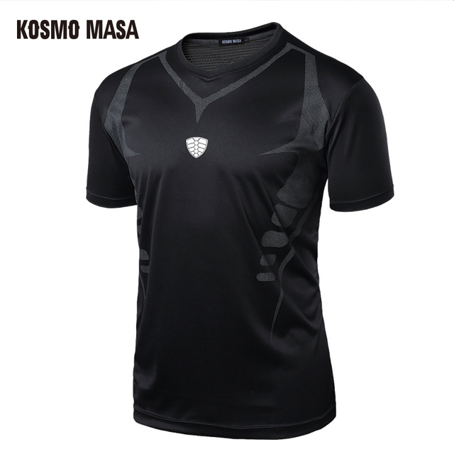 KOSMO MASA 2017 Men's Compression Clothing Quick Dry Breathable T-Shirt Fitness Hip Hop T-Shirts Men Jersey T Shirts MC0142